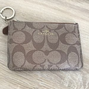Coach Pouch with Key Holder